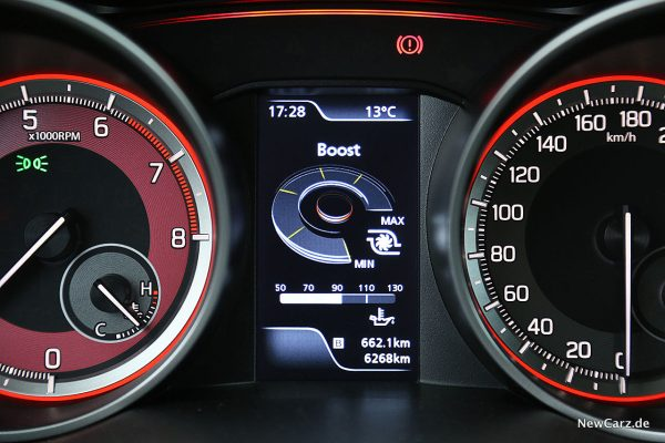 Suzuki Swift Sport Cockpitdisplay