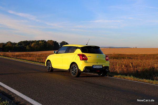 Suzuki Swift Sport schräg hinten