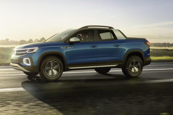 VW Tarok Konzept In Fahrt