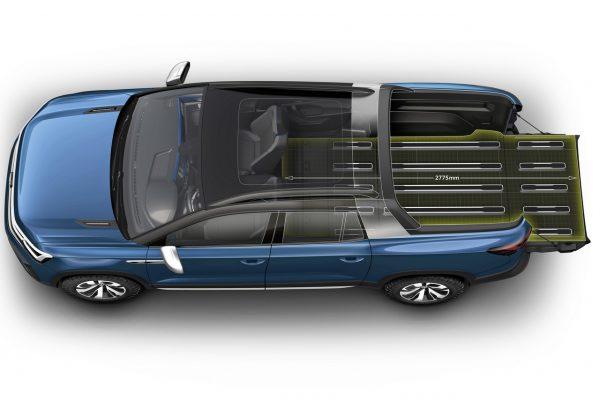 VW Tarok Konzept Ladefläche maximal
