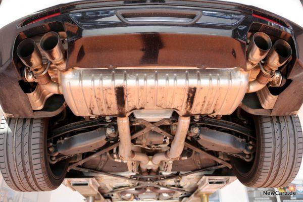 Unterboden Camaro