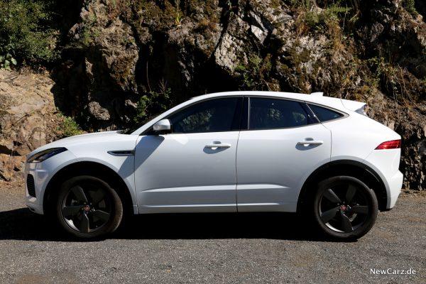 Jaguar E-Pace Seite
