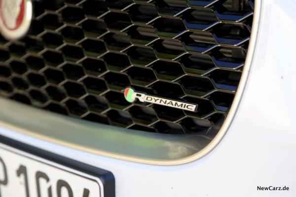 Jaguar E-Pace R-Dynamic Schriftzug