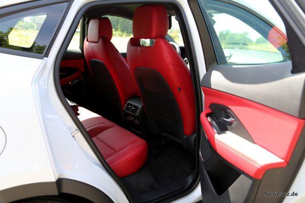 Jaguar E-Pace Rücksitze