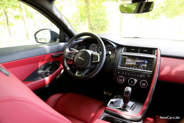 Jaguar E-Pace Interieur