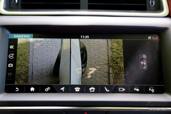 Jaguar E-Pace Kameras