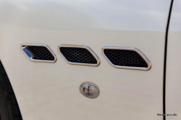 Maserati GranCabrio Luftauslässe Seite