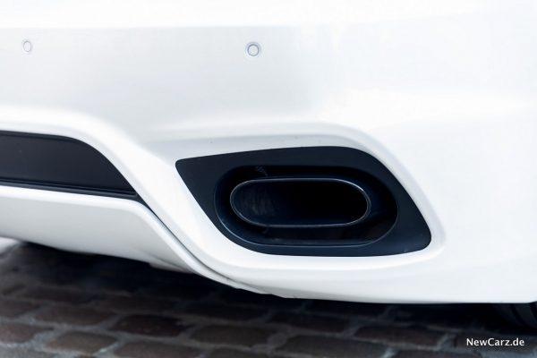 Maserati GranCabrio Sport Abgasanlage