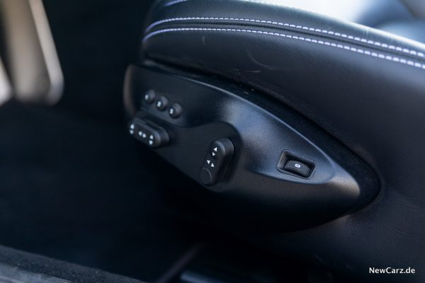 Maserati GranCabrio Sitzeinstellung
