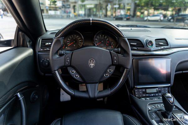 Maserati GranCabrio Innenraum