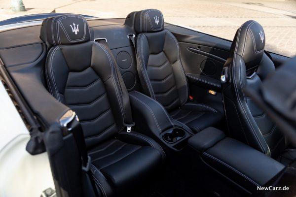 Maserati GranCabrio Sport Rücksitze