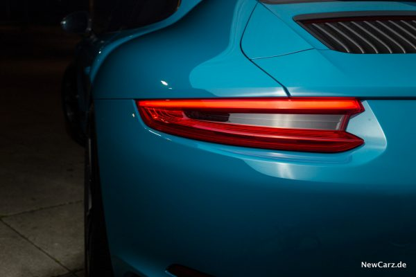 Porsche 911 Carrera T Heckleuchte