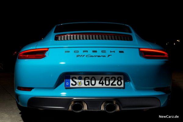 Porsche 911 Carrera T Heck