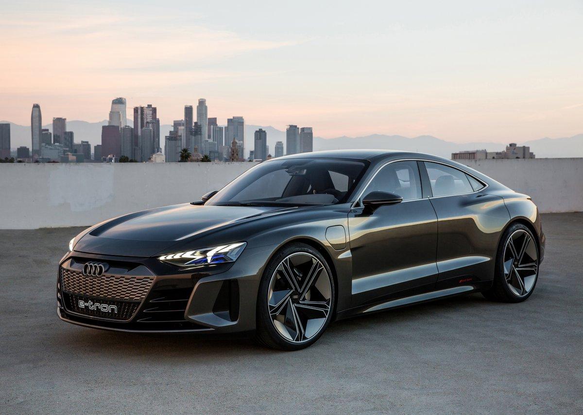 Frontansicht - Audi e-Tron GT Concept