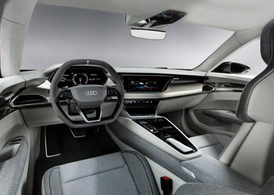 Interieur des Audi e-Tron GT Concept