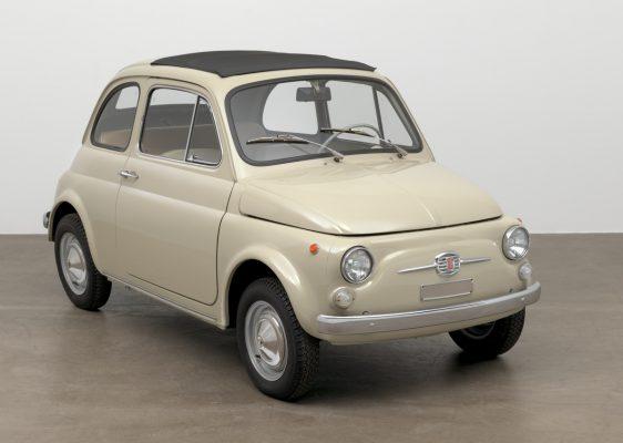 Frontansicht des Fiat 500 F