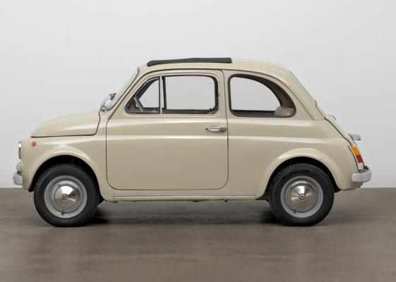 Seitenansicht des Fiat 500 F