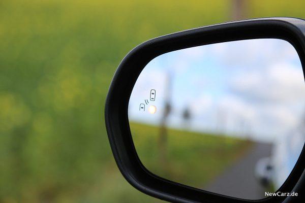 Ford Fiesta ST Außenspiegel mit Totwinkelwarnung