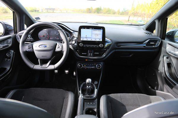 Ford Fiesta ST Armaturenbereich