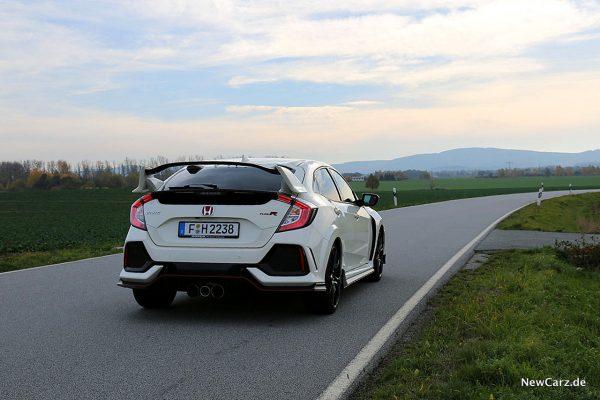 Honda Civic Type R schräg hinten