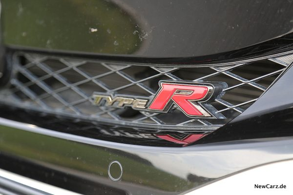 Honda Civic Type R Typenschild Frontgrill