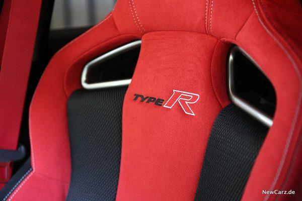 Honda Civic Type R Sportsitzlehne