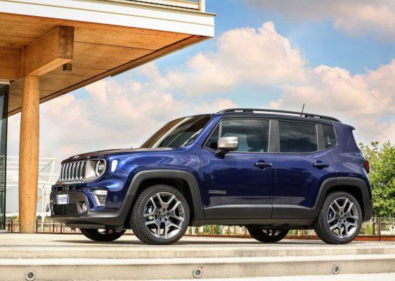 Jeep Renegade - Seitenansicht