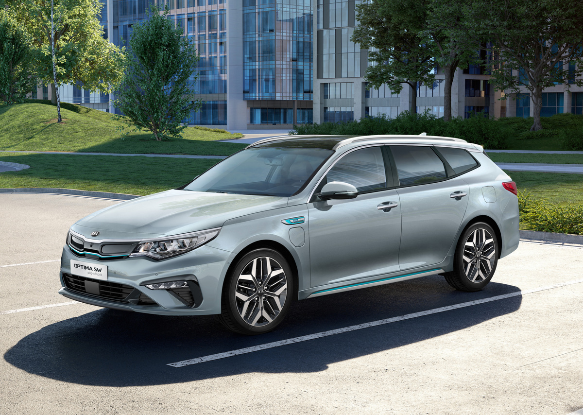 Optimierungen für den Kia Optima Plug-in Hybrid