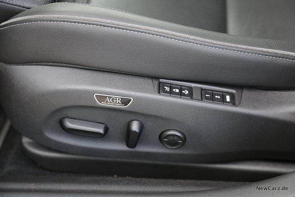 Opel Insignia GSi AGR-Sitz