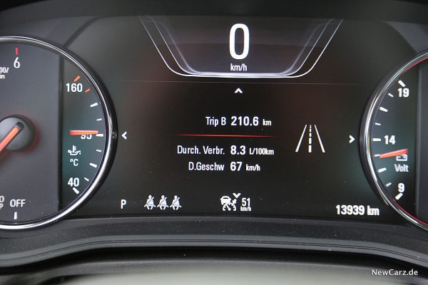 Opel Insignia GSi Verbrauch