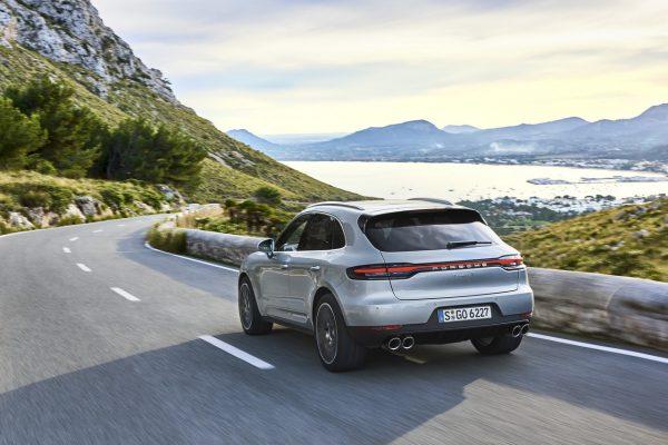 Porsche Macan S 2019 schräg hinten
