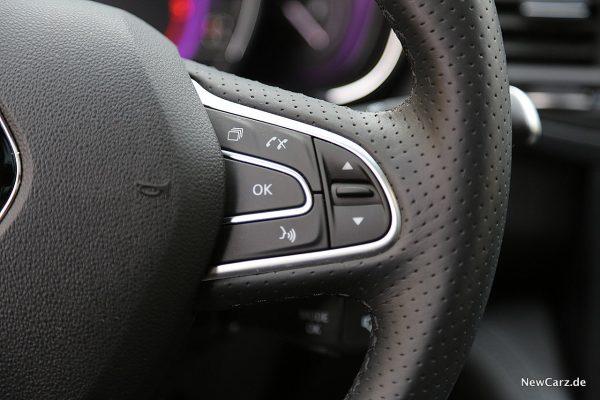 Renault Koleos Dauertest Sprachsteuerung