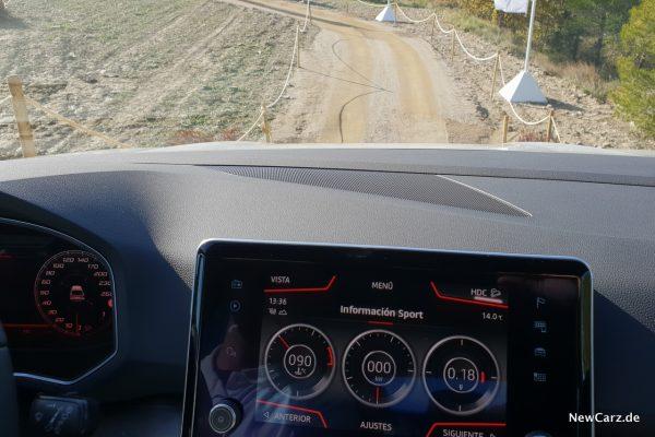 Seat Tarraco offroad