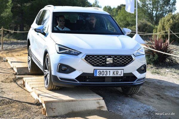 Seat Tarraco Offroad-Parcours