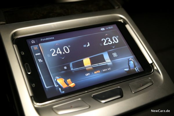 BMW Touch Command Fondklima