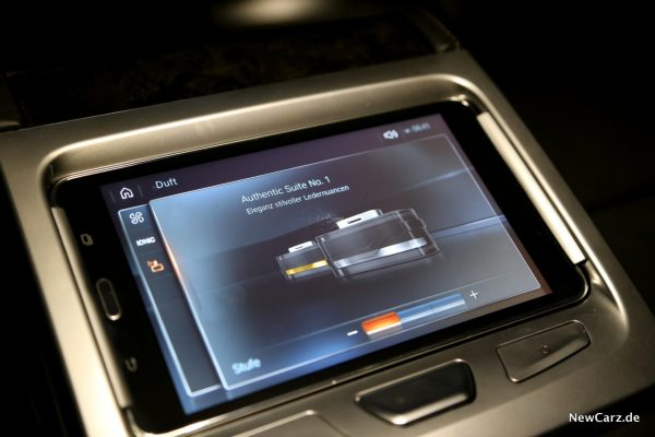 BMW Touch Command Beduftung