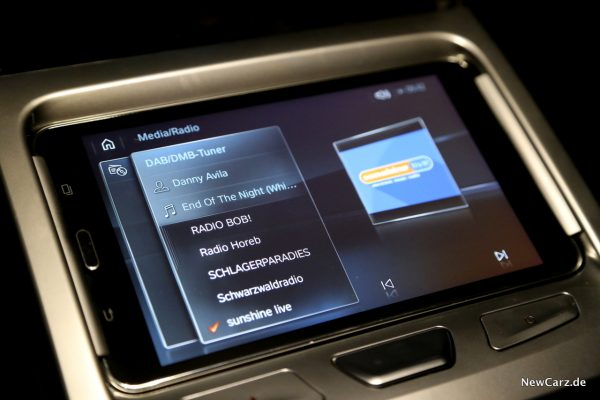 BMW Touch Command Radiosender