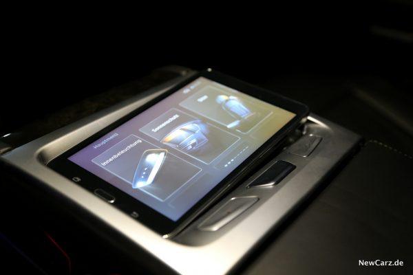 BMW Touch Command Entnahme