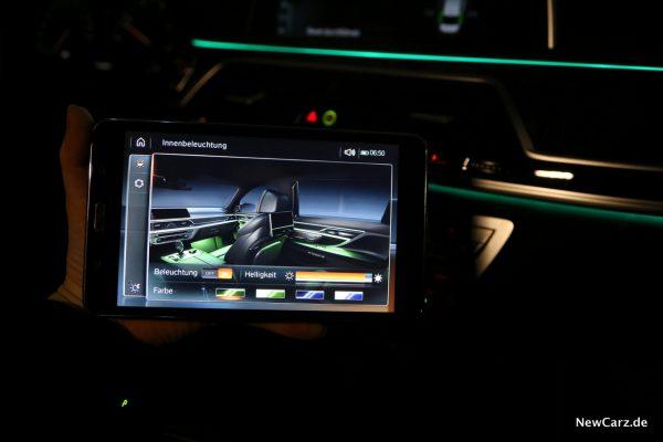 BMW Touch Command Nutzung Beifahrer