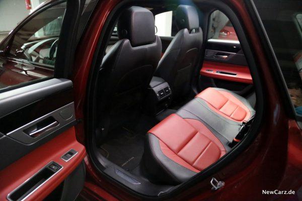 Jaguar XF Sportbrake Sitze hinten