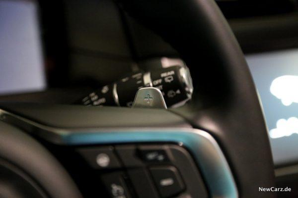 Jaguar XF Sportbrake Schaltwippen
