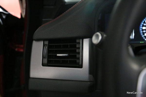 Jaguar XF Sportbrake Lüftungsdüsen offen