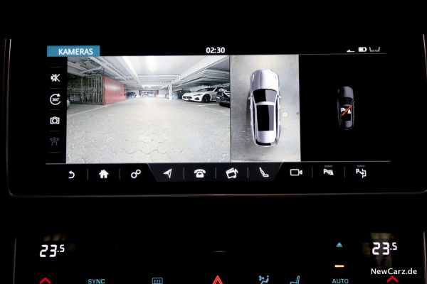 Jaguar XF Sportbrake Kameras