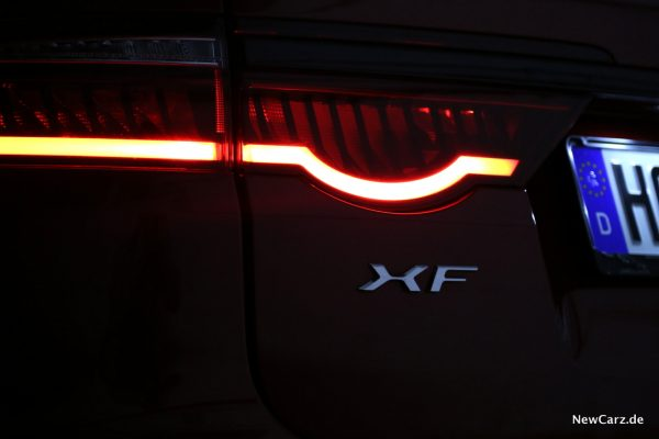 Jaguar XF Sportbrake Lichtsignatur Heck