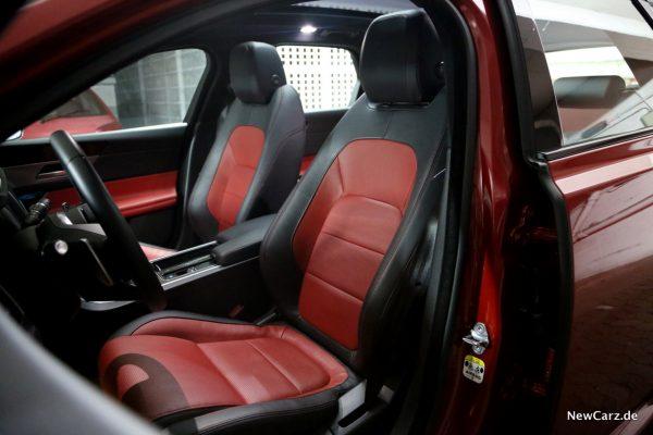Jaguar XF Sportbrake Sitze vorne