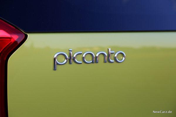 Kia Picanto X-Line Picanto-Schriftzug