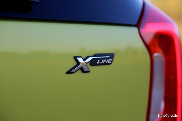 Kia Picanto X-Line X-Line-Schriftzug
