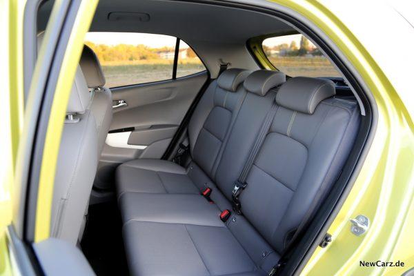 Kia Picanto X-Line Rücksitze