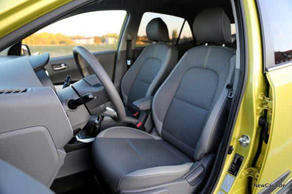 Kia Picanto X-Line Sitze