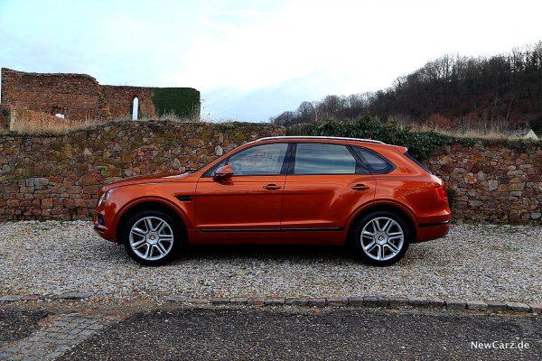Bentley Bentayga V8 Seite